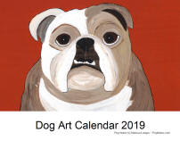 Click here for a close up of Dog Art 2019